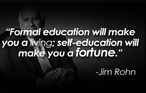 Self Education Jim Rohn Quotes