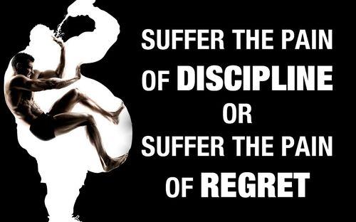 jim rohn quotes discipline or regret