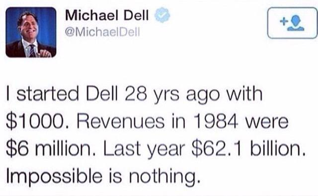 Michael Dell Quotes - Impossible Is Nothing