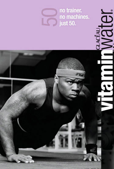 50 Cent Formula 50 Vitamin Water
