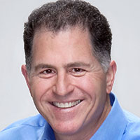 Michael Dell - Another college drop out who built a business while at college.