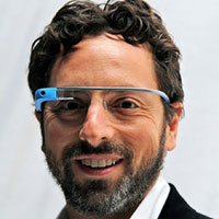 Sergey Brin - Dropped out of college to co-found Google